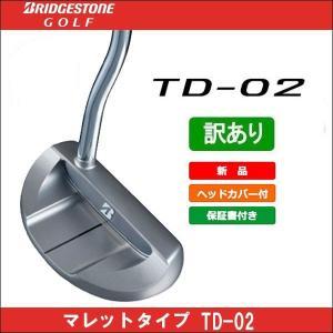 取寄せ商品 BRIDGESTONE(ブリヂストン) TD-02 日本正規品 パター|somethingfour