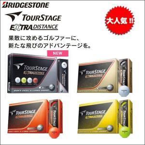 大特価 ブリジストン TOURSTAGE(ツアーステージ) EXTRA DISTANCE(エクストラ ディスタンス) ゴルフボール 1ダース(12P)|somethingfour