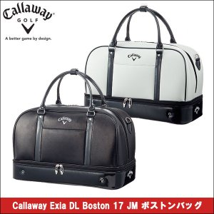取寄せ商品 2017年1月発売 callaway(キャロウェイ) Callaway Exia DL Boston 17 JM ボストンバッグ メンズ ゴルフバッグ|somethingfour