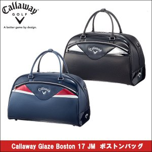 取寄せ商品 2017年1月発売 callaway(キャロウェイ) Callaway Glaze Boston 17 JM ボストンバッグ メンズ ゴルフバッグ|somethingfour