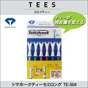 4個までネコポス送料200円  DAIYA ダイヤ トマホークティーセミロング TE-504 <ネコ...