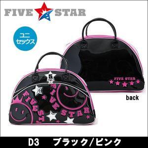 即納 FIVESTAR(ファイブスター) FSBB-001 D3 ブラック/ピンク ボストンバッグ ゴルフバッグ  オリジナルタオルプレゼント|somethingfour