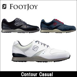 取寄せ商品 FootJoy(フットジョイ) Contour Casual コンツアーカジュアル 日本正規品 ゴルフシューズ|somethingfour