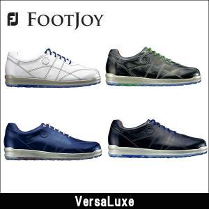 取寄せ商品 FootJoy(フットジョイ) VersaLuxe バーサルクス スパイクレスソール 日本正規品 ゴルフシューズ|somethingfour
