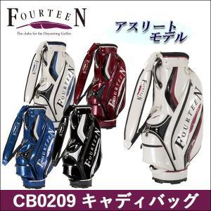 取寄せ商品 FOURTEEN(フォーティーン)CB0209 キャディバッグ ゴルフバッグ |somethingfour