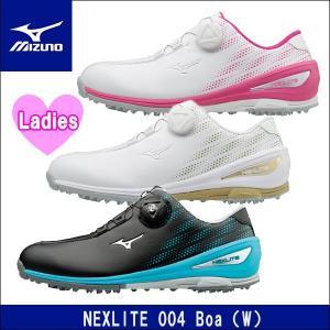 取寄せ商品 MIZUNO(ミズノ) NEXLITE 004 Boa(W)(ネクスライト004ボア) 51GW1720 レディース ゴルフシューズ|somethingfour