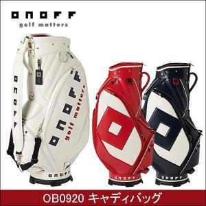 取寄せ商品 ONOFF オノフ OB0920 メンズ キャディバッグ ゴルフバッグ|somethingfour