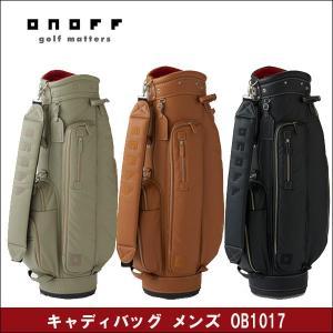 取寄せ商品 ONOFF(オノフ) OB1017 メンズ キャディバッグ ゴルフバッグ|somethingfour
