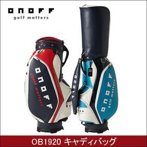 取寄せ商品 ONOFF オノフ OB1920 メンズ キャディバッグ ゴルフバッグ|somethingfour