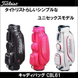 取寄せ商品 Titleist(タイトリスト) キャディバッグ CBL61 メンズゴルフバッグ|somethingfour