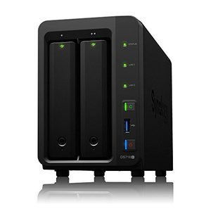 NASキットSynology DiskStation DS718+ 2ベイ / クアッドコアCPU搭...