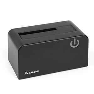Salcar USB3.0 2.5/3.5型SATA HDD/SDDスタンド 8TB UASP対応 ...