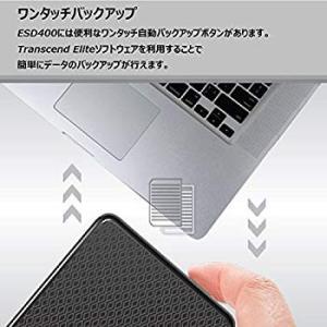 Transcend 外付けSSD 1TB USB3.0 MLC TS1TESD400K