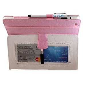 iPearl Leather Carrying Folia Cover Case for iPad ...