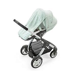 ストッケのベビーカー夏キット - 塩辛いブルー Stokke Stroller Summer Kit...