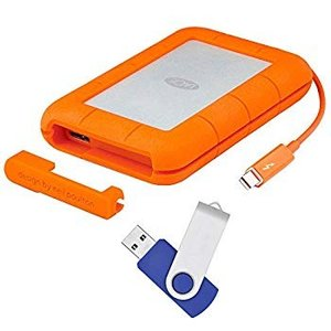 LaCie Rugged Mini USB 3.0 / USB 2.0 1TB External H...