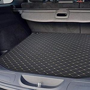 送料無料 ジープのロゴOEMとモパージープ・ラングラーJL貨物エリアトレイタブライナー Motor Trend PM602 Black Leather|sonanoa