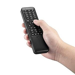 Pepper Jobs W10 GYRO Air TV Remote,QWERTY Keyboard...