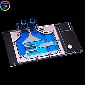 送料無料 Bykski RGB VGA GPU Water Cooling Block for AS...