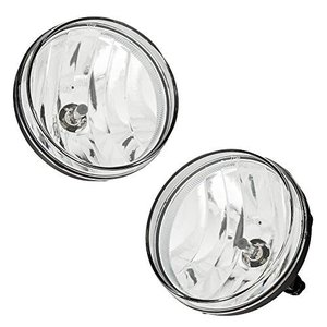 Scitoo Projector Clear Lens Replacement Fog Lights Assembly Front Bumper Lamps fit 2013-2015 Honda Civic 4DR Pair Set