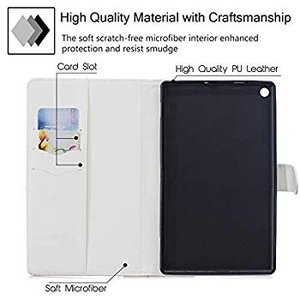 UGOcase Slim Case for Amazon Kindle Fire HD 8 Case...