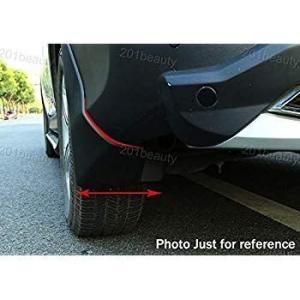 Kaitian 4Pcs Black Car Mud Flaps Splash Guard Prot...