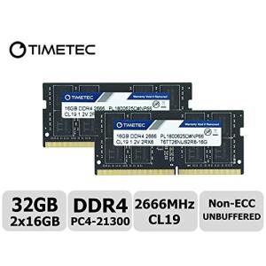 DDR4 2666MHz PC4-21300 260ピン バッファなし 非ECC 1.2V CL19...