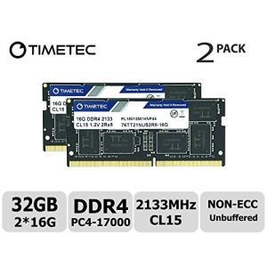 DDR4 2133MHz PC4-17000 260ピン バッファーなし ECC 1.2V CL15...