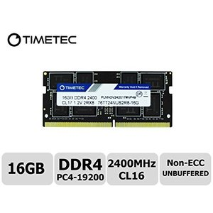 DDR4 2400MHz PC4-19200 260ピン バッファなし 非ECC 1.2V CL17...