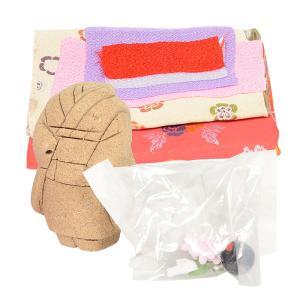 木目込み童人形 No.1002-B 【ぽっくりちゃん】 布付き手芸キット|soneningyo