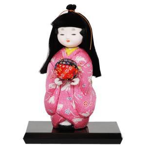 木目込み童人形 No.1022-A 【つづみのまりもち】 完成品|soneningyo