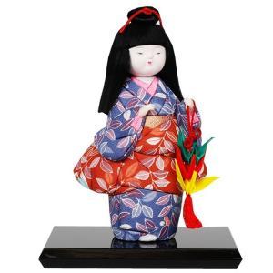 木目込み童人形 No.1023-A 【折づる】 完成品|soneningyo