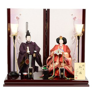 No.303-15【送料無料】 雛人形 三五サイズ 京雛 本仕立 立雛 皇太子柄|soneningyo