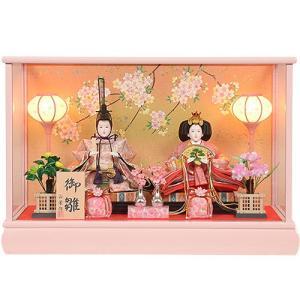 雛人形 No.306-108 雛人形 ケース入り 親王飾り ...