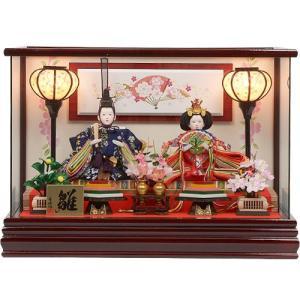 雛人形 No.306-111 雛人形 ケース入り 親王飾り ひな人形 soneningyo