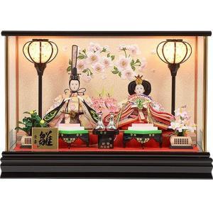 雛人形 No.306-86 お買得商品 雛人形 コンパクト 親王飾り ひな人形 ケース雛人形 soneningyo