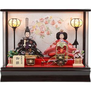 雛人形 No.306-90 雛人形 アクリルケース 親王飾り ひな人形 soneningyo