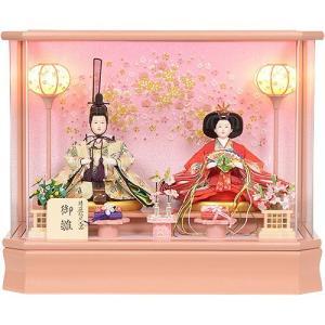 雛人形 No.306-91 雛人形 アクリルケース 親王飾り ひな人形 soneningyo