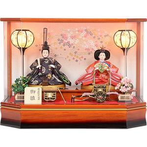 雛人形 No.306-92 雛人形 アクリルケース 親王飾り ひな人形 soneningyo