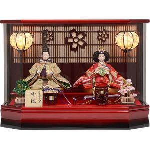 雛人形 No.306-93 雛人形 アクリルケース 親王飾り ひな人形 soneningyo
