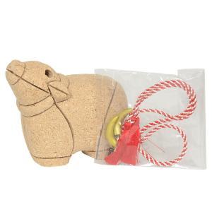 干支木目込み人形 No.2107-C 【幼な丑】  桐塑ボディ手芸キット ※こちらの商品に布は付いていません soneningyo