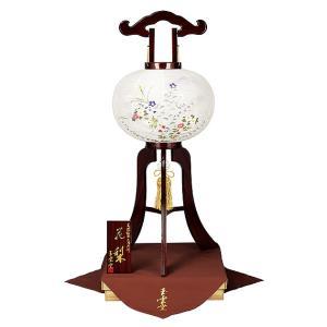 木製の大内盆提灯。送料無料・高級品とされる花梨は耐久性や保存性の高い材質です。【F38OU12-608】|soneningyo