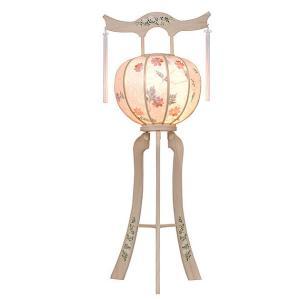 明日着く商品!白を基調にした神道用の木製盆提灯送料無料・毎年一番人気のちょうちんです。【G36ST8425】|soneningyo