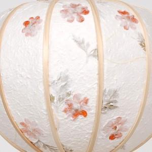 明日着く商品!白を基調にした神道用の木製盆提灯送料無料・毎年一番人気のちょうちんです。【G36ST8425】|soneningyo|03