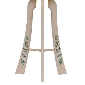 白を基調にした神道用の木製盆提灯送料無料・新デザインの数量限定商品です。【G36ST8437】|soneningyo|05