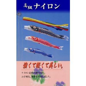 【3mナイロン鯉】お庭用 (杭打ち込みセット)|soneningyo