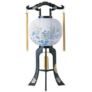 回転デザイン盆提灯「桔梗」。新デザインの数量限定商品です。【G25KT6317】 soneningyo