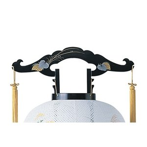 回転デザイン盆提灯「桔梗」。新デザインの数量限定商品です。【G25KT6317】 soneningyo 02