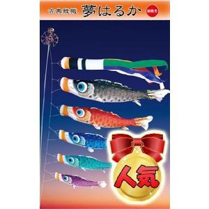 鯉のぼり 【3m】 古典鯉幟 【夢はるか】 庭園スタンドセット|soneningyo