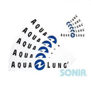AQUALUNG(アクアラング) ステッカー(小) Sticker|sonia